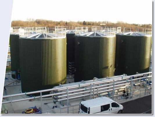 tapered beam roofs anaerobic digestion